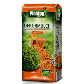 Dekormulch Plantop Orange 50 Liter