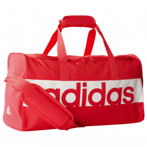 adidas Linear Performance Teambag Größe S in der Farbe Pink/Rot