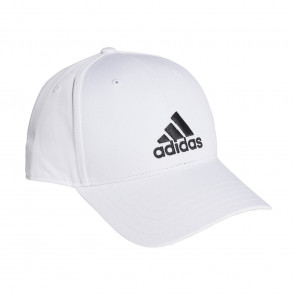 adidas 6 Panel Baseball Cap 3S Cotton Weiß